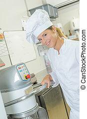 kock, holdingen, utrustning