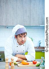 kock, i köket