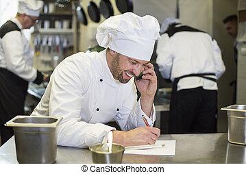 kock, in, bra, förbindelser, med, leverantör