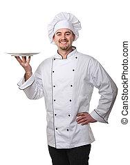 kock, stående
