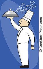 kock, tjänande