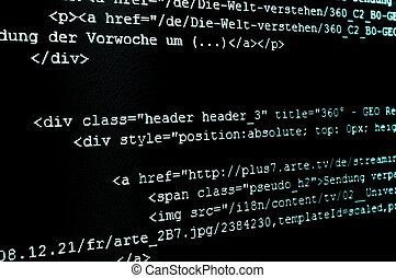 kodeks, html, internet