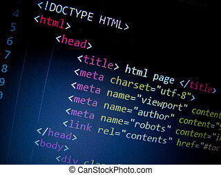 kodeks, html