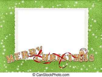koekje, grens, kerstmis