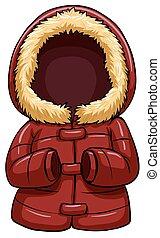koerper, wärmer, rotes