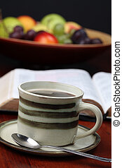 koffie, bijbel