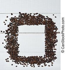 koffie boon, frame
