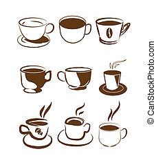 koffie, communie, ontwerp
