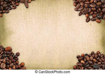 koffie, frame