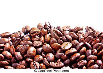 koffie, grunge, achtergrond