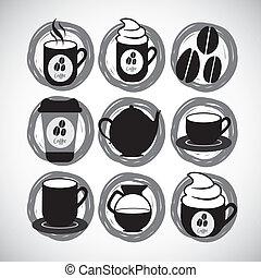 koffie, iconen