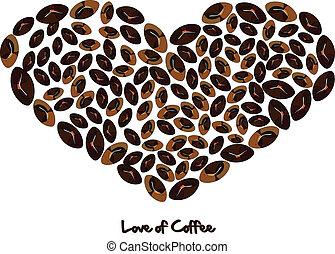 koffie, liefde