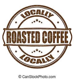 koffie, locally, geroosterd