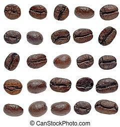 koffie stel, bonen