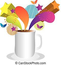 koffie, verrassing