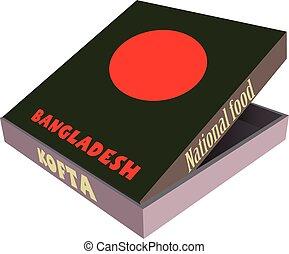 kofta, nazionale, -, bangladesh, cucina