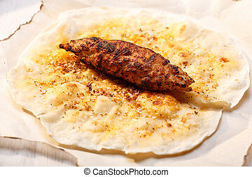 kofte, chiche-kebab shish