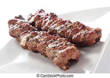 kofte, shish, indien, kofta, chiche-kebab