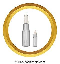 kogels, pictogram
