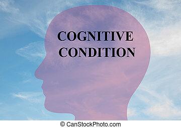 kognitiv, bedingung, begriff