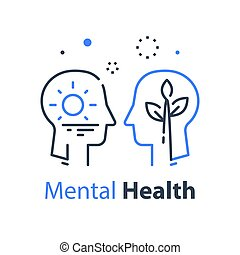 kognitiv, profil, ego, aktning, eller, begrepp, psykologi, mänsklig, psykoterapi, själv, huvud