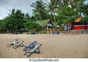 koh, agosto, spiaggia, 2007, tailandia, lamai, samui