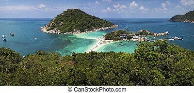 koh, isla,  nangyuan, Tailandia