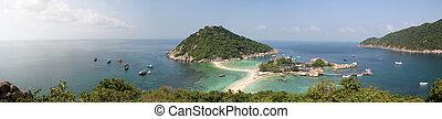 Koh Nang yuan Island, Surat, Thailand