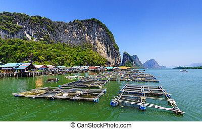 Koh Panyee, Fisherman village, Phang Nga, Thailand - Koh...
