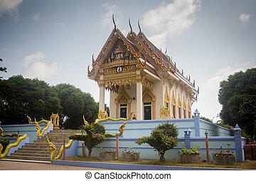 koh samui, templo