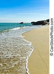 koh, tailandia, samui, playa, paraíso