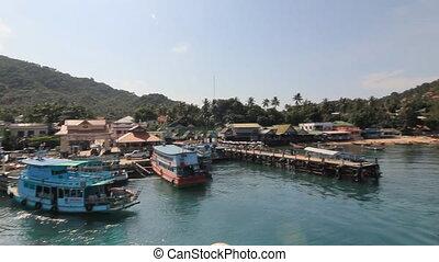 Koh Tao Island Viewpoint , Surat Thani, Thailand
