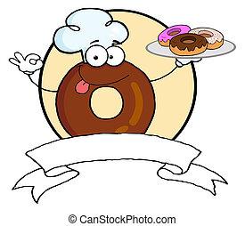 kok, donut, brengt, donuts