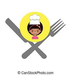 kok, menu, weinig; niet zo(veel), geitjes