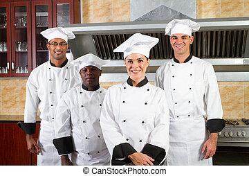 kok, verscheidenheid, groep