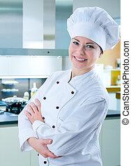 kok, vrouwlijk