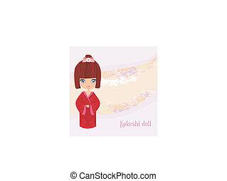 kokeshi, poupée