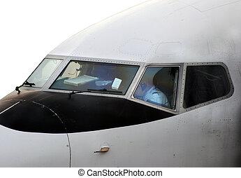 kokpit, samolot