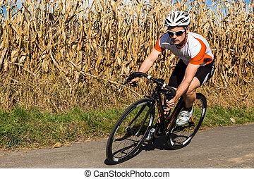 kolarstwo, triathlete