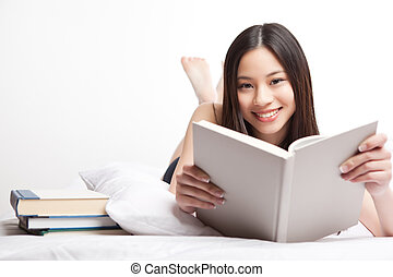 kolegium, asian, student