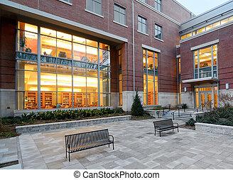 kolegium, biblioteka