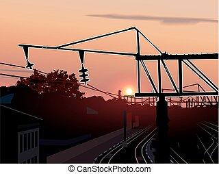 kolejowa stacja