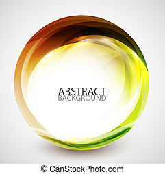 kolken, abstract, cirkel, energie
