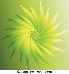 kolken, abstract, groene achtergrond