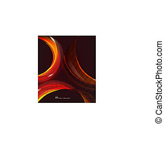 kolken, abstract, kleurrijke, achtergrond