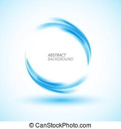 kolken, blauwe , abstract, cirkel, energie