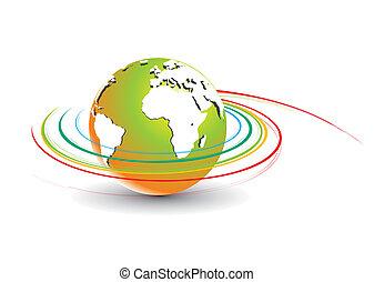 kolken, globe