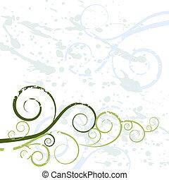 kolken, grunge, achtergrond, textuur