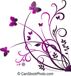 kolken, vlinder