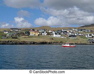 kollafjordur, faroe islands